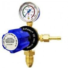 Ashaarc Single Stage Single Gauge Oxygen Gas Regulator, A.S.G.OX-1