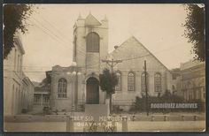 GUAYAMA - Iglesia Metodista, Guayama, P. R. - Real Photo Post Card unsed c. 1910-1920's My grandmothers church since the beginning of time.