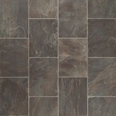 love this fiber floor by Tarkett in the Sylvanova Slate pattern, steel coloring. Would be great as an entry way flooring