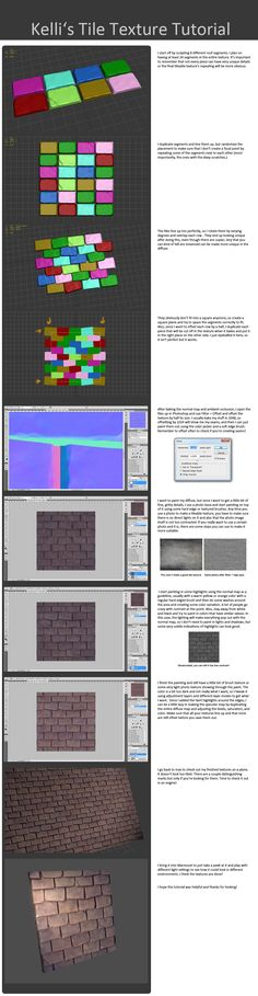 Tile Texture Tutorial with Kelli