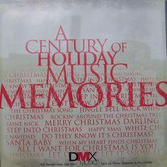 DMX Christmas Promo Cd 1999 Century of Holiday Music Memories Bing U2 Madonna + #Christmas