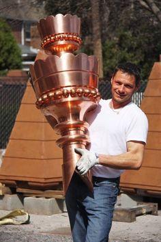 Rutland Gutter Supply Copper Finials Roof Custom