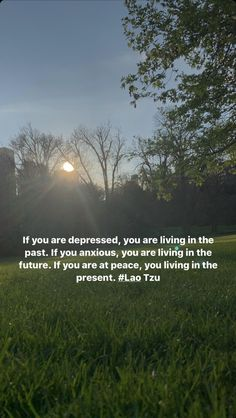Live In The Present, Anxious, Laos, Depression, The Past, Life Quotes, Peace, Sunset, Outdoor