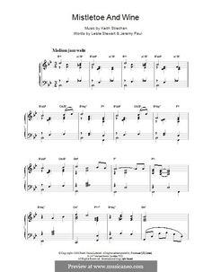 mistletoe piano sheet music free pdf