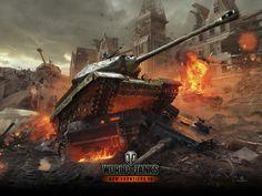 New Frontiers Wallpaper | Art | World of Tanks
