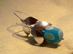 Sterling Silver Flower Earrings 24$