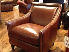 Bernhardt Leather Barrister Club Chair Is Available At Town U0026 Country  Leather Furniture Austin, Tx And Houston, Tx. Our Leather Furniture  Superstore ...