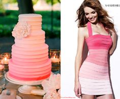 {Wedding Trends} : Ombre - Part 2 - Belle the Magazine . The Wedding Blog For The Sophisticated Bride