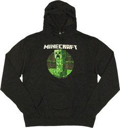 Minecraft Retro Creeper Hoodie