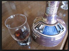 """""""As a result,"""" Koch writes, """" ... Utopias invokes the flavors of rich vintage port, fine Cognac or or aged sherry, while feeling surprisingly light on the palate.""""  Utopias is meant to be sipped and is recommended to be served at room temperature in a two-ounce glass.  It also comes in a cool-looking black decanter shaped like a brew kettle.  The bottle, at 24 ounces, makes for a great collectors item --and something you may want to keep especially when it works out to over $7 an ounce."""