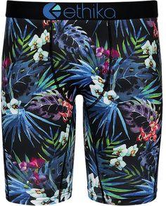 Mens Soft Breathable Whale Shark Light Vector Underwear Boxer Briefs