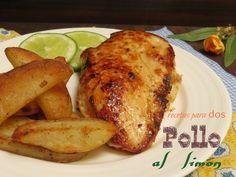 Pollo al limón, una receta sencilla de elaborar, para tenerla presente en el menú de la semana.