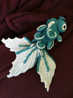 Crocheted Fish: #free #crochet #fish #pattern by Aurélie MarieMad