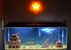 Totally making a fishtank like this!