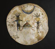 Pueblo Painted Hide Shield | Lot | Sotheby's