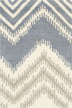 Buy the Safavieh Blue / Ivory Direct. Shop for the Safavieh Blue / Ivory Capri x Rectangle Wool Hand Tufted Stripes Area Rug and save.