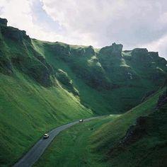 Green Valley, Peak District, England..