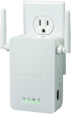 NETGEAR N300 Wi-Fi Range Extender - Wall Plug Version (WN3000RP):Amazon:Electronics