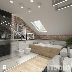 Łazienka w stylu skandynawskim - zdjęcie od MIKOŁAJSKAstudio