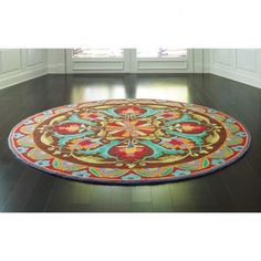 Round Hooked Rugs