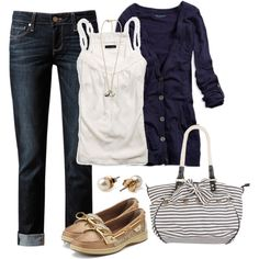 Nautical, created by ohsnapitsalycia on Polyvore