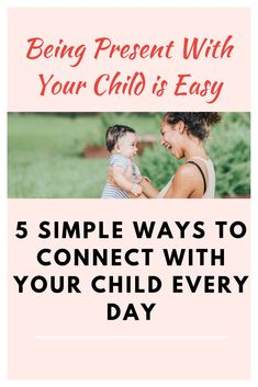 Being Present with Your Children is Easy - Being present with your child takes simple moments of connection // Medium — - Mindful Parenting, Parenting Fail, Natural Parenting, Peaceful Parenting, Parenting Books, Gentle Parenting, Parenting Teens, Parenting After Separation, Strong Willed Child