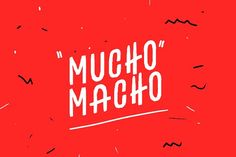 "Huge Font Fonts **About Huge Font**About Huge Font""Huge"" is a font inspired by the Mexican urban lettering, an i by eldelentes Mexican Graphic Design, Mexican Designs, Business Brochure, Business Card Logo, Web Design, Logo Design, Logo Mexicano, Real Estate Landing Pages, Mexican Fonts"