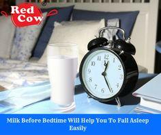 Drink milk before bedtime to fall asleep easily visit redcowdairy.in