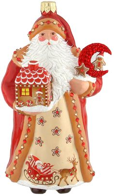 Moonlit Pines Santa, Gingerbread  Exclusive to Christmas at the Zoo.