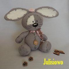 Bunny  like a  Fizzy Moon. Forever friends.Crochet  PDF pattern