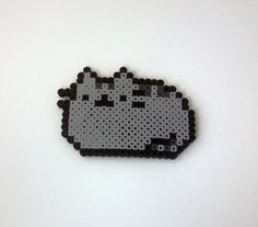 Pusheen Perler Beads as well as perler bead patterns pusheen cat . Perler Bead Designs, Perler Bead Templates, Hama Beads Design, Diy Perler Beads, Pearler Beads, Pikachu Hama Beads, Pearler Bead Patterns, Perler Patterns, Pixel Art