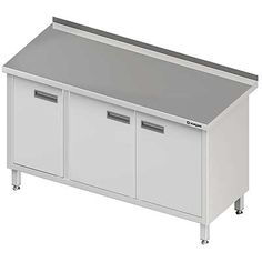 Stół przyścienny z drzwiami skrzydłowymi MEBLE NIERDZEWNE http://cws.com.pl/oferta/55?search=&order=i.ordering&dir=asc&cm=0#tlb  #meble_nierdzewne
