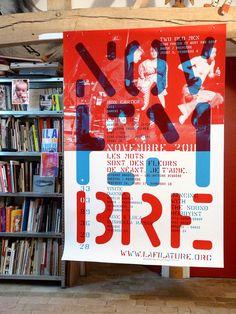 Poster Théatre Filature 2012- Vincent Perrotet