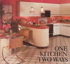 Joyce's kitchen, not strictly 1980s maybe but every decade is an accumulation of previous ones...