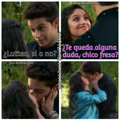 LUTTEO ES REAL, BITCHES!! ❤❤ Escena final del episodio 1... Sorry a todo aquel #Lumon pero Disney lo quezo asi!! ❤ - L #soyluna