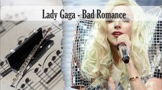 Partitura Lady Gaga - Bad Romance Flauta Traversa