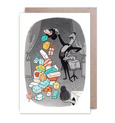 Greeting card by Satoshi Hashimoto   LAGOM DESIGN