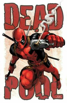 Deadpool by Mike Miller Marvel Comic Character, Comic Book Characters, Comic Books Art, Comic Art, Marvel Vs, Marvel Dc Comics, Marvel Heroes, Deadpool Art, Lady Deadpool