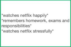 My life at the moment