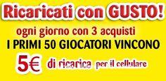Ricarica telefonica omaggio con Negroni - DimmiCosaCerchi.it