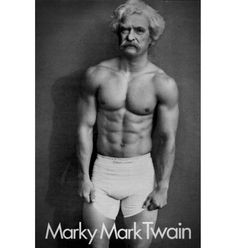 Marky Mark Twain poster – Buy Me Brunch
