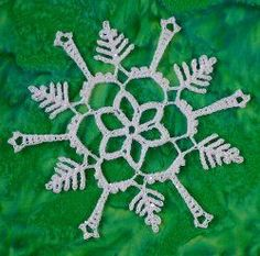 Crochet snowflake ornaments are a way of decorating your tree with hints of the beauty outside! Browse more than 70 free crochet snowflake patterns. Crochet Christmas Ornaments, Holiday Crochet, Snowflake Ornaments, Christmas Snowflakes, Christmas Time, White Christmas, Free Crochet Snowflake Patterns, Crochet Snowflakes, All Free Crochet
