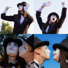 Mime Makeup, Captain Hat, Female, Hats, Fashion, Moda, Hat, Fashion Styles, Fashion Illustrations