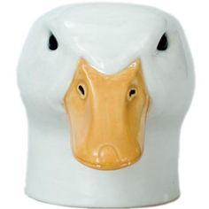 Quail Ceramics-Pekin Canard Face Coquetier