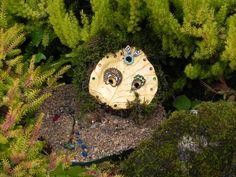 Fairy Homes, Sculptures, Homemade, Stone, Heart, Outdoor Decor, Nature, How To Make, Home Decor