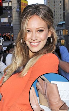 Hilary Duff bangs...yes im obsessed with her hair!