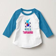 Love Korean Martial Art-TaeKwonDo Baseball T-Shirt - chic design idea diy elegant beautiful stylish modern exclusive trendy