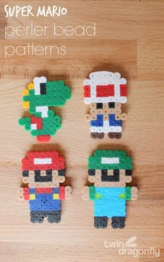 Perler Bead Mario Patterns