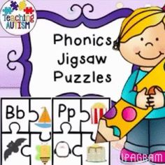 Letter Recognition Alphabet Picture 4 Piece Phonics Jigsaw Activity  This product includes jigsaw pieces from A to Z. Students have to match the pictures to the correct letter.   I would suggest laminating the jigsaws so that you can re-use in future . Excellent letter recognition activity but also a fun game which students will enjoy taking part in.