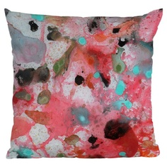 I pinned this Brian Wall Fine Art Pink Throw Pillow from the Deny Designs event at Joss and Main!